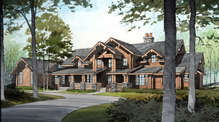 Dream Log Home Log Cabin Homes For Sale And Log Cabin Models