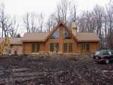 Nationwide log home builders